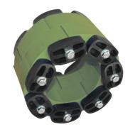 Звеньевой уплотнитель кольцевых пространств Прессио-Элементс тип О - масло- и бензо-стойкий  (Линк-Сил)